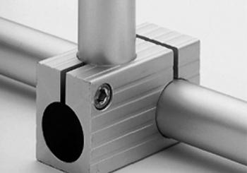 Cross nut for tubes Diam. 30 mm